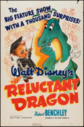 "Movie Posters:Animation, The Reluctant Dragon (RKO, 1941). One Sheet (27"" X 41""). Animation.. ..."