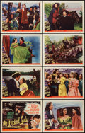 """Movie Posters:Drama, The Wicked Lady (Universal International, 1946). Lobby Card Set of 8 (11"""" X 14""""). Drama.. ... (Total: 8 Items)"""