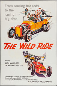 "The Wild Ride (Filmgroup, Inc., 1960). One Sheet (27"" X 41""). Exploitation"