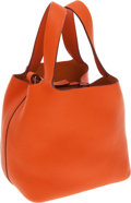 Luxury Accessories:Bags, Hermes Potiron Togo Leather Picotin PM Tote Bag. ...