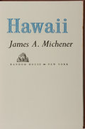 Books:Literature 1900-up, James A. Michener. SIGNED/LIMITED. Hawaii. Random House,1959. First edition, first printing. Limited to 400 numbe...
