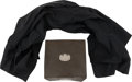 Music Memorabilia:Costumes, Elvis Presley Owned Scarf and Brut Carrying Case.... (Total: 2 Items)