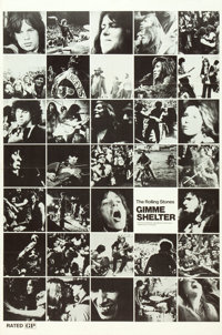 """Gimme Shelter (20th Century Fox, 1970). One Sheet (29"""" X 44"""") Photo Montage Style"""