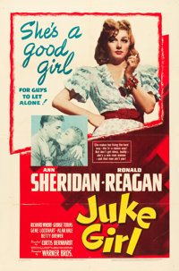 "Juke Girl (Warner Brothers, 1942). One Sheet (27"" X 41"")"