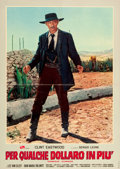 "Movie Posters:Western, For a Few Dollars More (PEA, 1965). Italian Photobustas (2) (26.5""X 37""). ... (Total: 2 Items)"