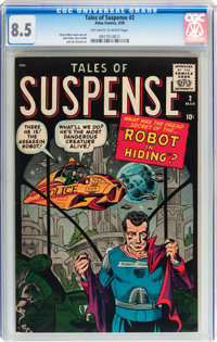 Tales of Suspense #2 (Marvel, 1959) CGC VF+ 8.5 Off-white to white pages