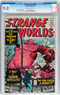 Silver Age (1956-1969):Science Fiction, Strange Worlds #3 (Marvel, 1959) CGC VF/NM 9.0 Off-white to whitepages....