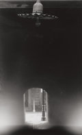 Photographs, MINOR WHITE (American, 1908-1976). Unlit Lamp and Tunnel, Haymarket Square, Boston, 1969. Early gelatin silver. 11-3/8 x...