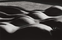 LUCIEN CLERGUE (French, b. 1934) Nudes, 1985 Gelatin silver, printed by K Vogrvue and L. Clergue, 19