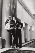 Photographs, HELMUT NEWTON (German/Australian, 1920-2004). Woman into Man, Yves St. Laurent for French Vogue, Paris, 1979. Gelatin si...