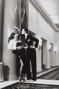 HELMUT NEWTON (German/Australian, 1920-2004) Woman into Man, Yves St. Laurent for French Vogue, Paris