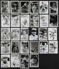 Baseball Collectibles:Photos, Baseball Greats Signed Photographs Lot of 28....