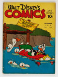 Golden Age (1938-1955):Cartoon Character, Walt Disney's Comics and Stories #12 (Dell, 1941) Condition:VG-....