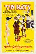 """Movie Posters:Comedy, Tin Hats (MGM, 1926). One Sheet (27"""" X 41"""").. ..."""