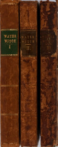 Books:Literature Pre-1900, James Fenimore Cooper. The Water Witch; or, The Skimmer of the Seas. Vol. I-III. Colburn and Bentley, 1830. Firs... (Total: 3 Items)