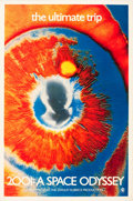 "Movie Posters:Science Fiction, 2001: A Space Odyssey (MGM, 1969). Psychedelic Eye One Sheet (27"" X41"").. ..."
