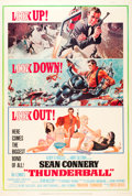 "Movie Posters:James Bond, Thunderball (United Artists, 1965). Poster (40"" X 60"").. ..."