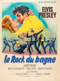 "Jailhouse Rock (MGM, 1957). French Grande (47"" X 63"")"