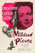 "Movie Posters:Film Noir, Mildred Pierce (Warner Brothers, 1945). One Sheet (27"" X 41"").. ..."
