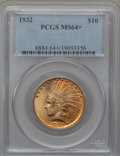 Indian Eagles, 1932 $10 MS64+ PCGS....
