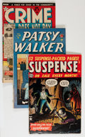 Golden Age (1938-1955):Miscellaneous, Comic Books - Assorted Golden Age Comics Group (Various Publishers, 1950s) Condition: Average VG.... (Total: 6 Comic Books)