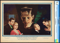 "Frankenstein (Universal, 1931). CGC Graded Lobby Card (11"" X 14"")"