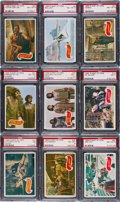 Non-Sport Cards:Sets, 1969 Topps Planet of The Apes Complete Set (44) - #9 on the PSA SetRegistry. ...