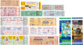 Baseball Collectibles:Tickets, 1950's-1990's Milwaukee/Atlanta Braves Tickets Lot of 14....