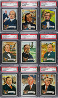 "Non-Sport Cards:Sets, 1972 Topps ""U.S. Presidents"" Complete Set (43) - #4 on the PSA SetRegistry. ..."