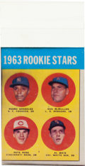 Baseball Cards:Singles (1960-1969), 1963 Topps Pete Rose Rookie #537 Color Separations. ...