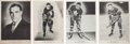 Hockey Cards:Lots, Scarce 1939-40 V301-1 & V301-2 O-Pee-Chee Premiums Collection(17). ...