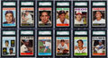 Baseball Cards:Sets, 1964 Topps Baseball Mid To High Grade Complete Set (598) and Giants Complete Set (60). ...