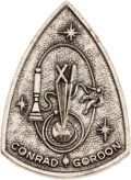 Explorers:Space Exploration, Gemini 11 Flown Silver Fliteline Medallion Originally from thePersonal Collection of Mission Command Pilot Charles Conrad, wi...