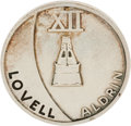 Explorers:Space Exploration, Gemini 12 Flown Silver-Colored Fliteline Medallion. ...