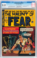 Golden Age (1938-1955):Horror, Haunt of Fear #16 (#2) (EC, 1950) CGC VF 8.0 Cream to off-whitepages....