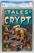 Golden Age (1938-1955):Horror, Tales From the Crypt #29 (EC, 1952) CGC VF+ 8.5 Off-white pages....