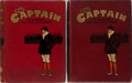 "Books:Children's Books, P. G. Wodehouse [contributions]. Group of Two Bound Volumes ofThe Captain: A Magazine for Boys & ""Old Boys"". Vol....(Total: 2 Items)"