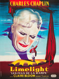"Movie Posters:Drama, Limelight (United Artists, 1952). French Grande (47"" X 63"").. ..."