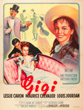 "Movie Posters:Musical, Gigi (MGM, 1959). French Grande (47"" X 63"").. ..."