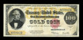 Large Size:Gold Certificates, Fr. 1215 $100 1922 Gold Certificate Very Fine++....