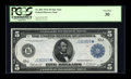 Large Size:Federal Reserve Notes, Fr. 882 $5 1914 Federal Reserve Star Note PCGS Very Fine 30....