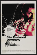 "Movie Posters:Crime, Dirty Harry (Warner Brothers, 1971). One Sheet (27"" X 41""). Crime...."