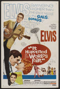 "Movie Posters:Elvis Presley, It Happened at the World's Fair (MGM, 1963). One Sheet (27"" X 41"").Elvis Presley. ..."