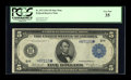 Fr. 873 $5 1914 Federal Reserve Star Note PCGS Very Fine 35