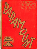 """Movie Posters:Miscellaneous, Paramount Exhibitor Book (Paramount, 1931-1932). French Campaign Book (Multiple Pages, 9.5"""" X 13"""").. ..."""