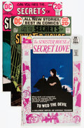Bronze Age (1970-1979):Horror, Sinister House of Secret Love/Secrets of Sinister House Group -Savannah pedigree (DC, 1972-73) Condition: Average NM-.... (Total:7 Comic Books)