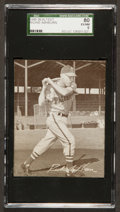 Baseball Cards:Singles (1940-1949), 1949 Sealtest Ice Cream Richie Ashburn RC SGC 80 EX/NM 6....