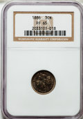 Proof Three Cent Nickels: , 1886 3CN PR65 NGC. NGC Census: (336/258). PCGS Population(370/263). Mintage: 4,290. Numismedia Wsl. Price for problemfree...