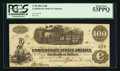 Confederate Notes:1862 Issues, T40 $100 1862 PF-4 UNL.. ...
