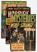 Golden Age (1938-1955):Horror, Comic Books - Golden and Silver Age Horror Comics Group (VariousPublishers, 1950s) Condition: Average GD+.... (Total: 12 ComicBooks)
